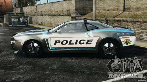 NFSOL State Police Car [ELS] for GTA 4 left view