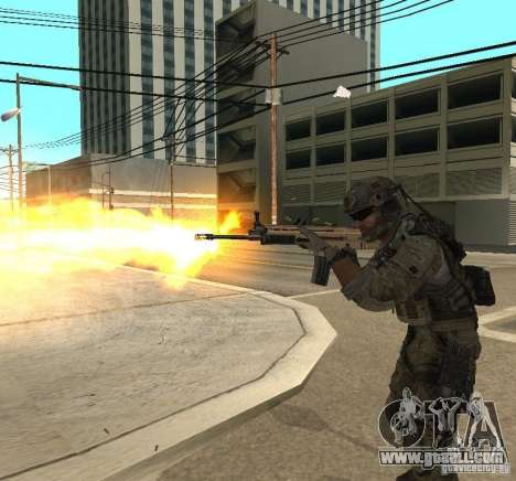 Frost and Sandman for GTA San Andreas fifth screenshot