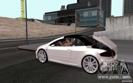 Peugeot 307CC BMS for GTA San Andreas engine