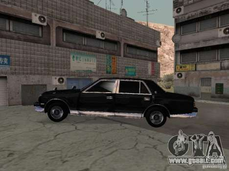 Toyota Century for GTA San Andreas back view