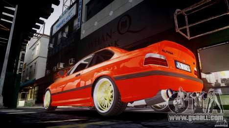 BMW E36 Alpina B8 for GTA 4 interior