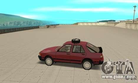 Saab 9000 for GTA San Andreas left view