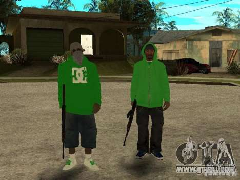 New family for GTA San Andreas