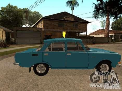 AZLK 2140 v2 for GTA San Andreas left view