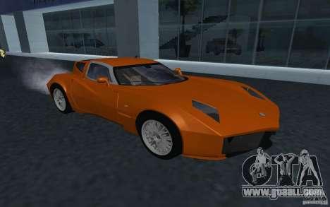Spada Codatronca TS Concept 2008 for GTA San Andreas back view