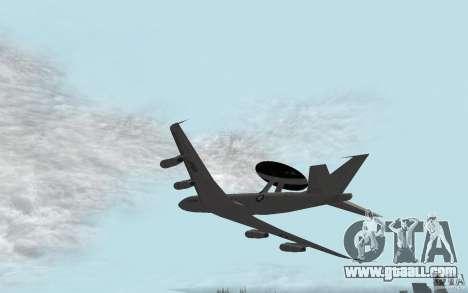 Boeing E-3 Sentry for GTA San Andreas left view