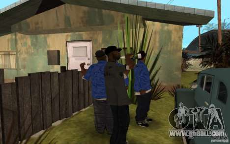 Crips 4 Life for GTA San Andreas eighth screenshot
