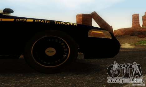 Ford Crown Victoria Nevada Police for GTA San Andreas right view