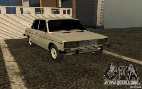 VAZ 2106 v. 2 for GTA San Andreas