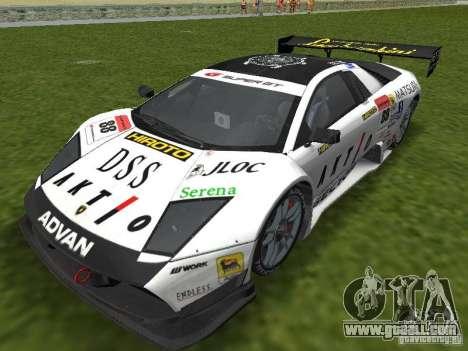 Lamborghini Murcielago R-GT for GTA Vice City