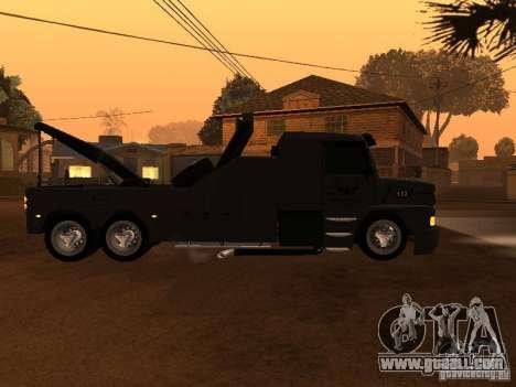 Scania 112H Gruas Fenix for GTA San Andreas left view