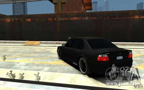 BMW 750i E38 HAMANN for GTA 4 back left view