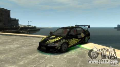 Mitsubishi EVO IX for GTA 4