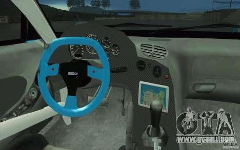 Mazda RX-7 911 Trust for GTA San Andreas upper view