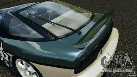 Nissan 240SX Time Attack for GTA 4 interior
