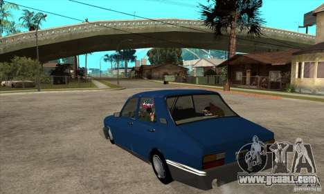 Renault 12 Tuned for GTA San Andreas back left view