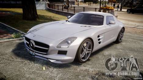 Mercedes-Benz SLS AMG 2010 [EPM] for GTA 4 left view