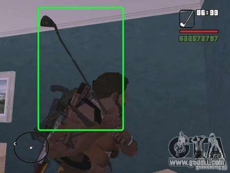 New hockey stick for GTA San Andreas