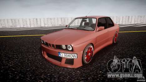 BMW E30 v8 for GTA 4