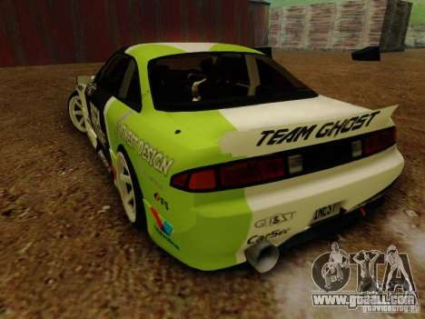 Nissan S14A Team Ghost for GTA San Andreas left view