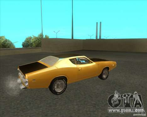 Dodge Charger RT 1971 for GTA San Andreas back left view