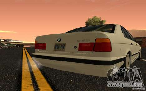 BMW 525 (E34) V.2 for GTA San Andreas right view