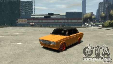 VAZ 2107 v3.0 for GTA 4 back left view