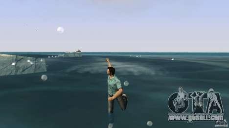Swimming for GTA Vice City second screenshot