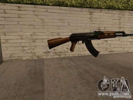 AK 47 for GTA San Andreas second screenshot