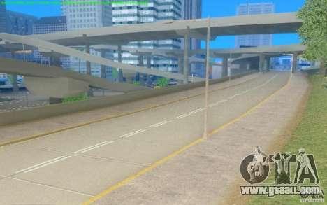 Concrete roads of Los Santos Beta for GTA San Andreas third screenshot