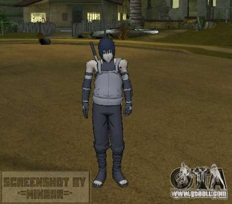 Skin Sasuke Anbu for GTA San Andreas