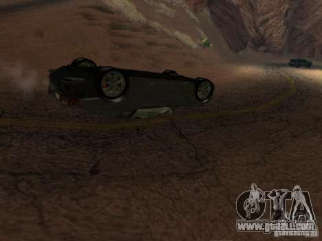 Overturned cars don't burn for GTA San Andreas third screenshot