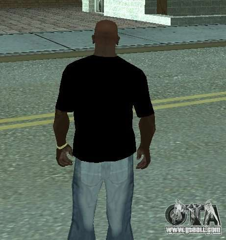 Triple-H T-shirt for GTA San Andreas second screenshot