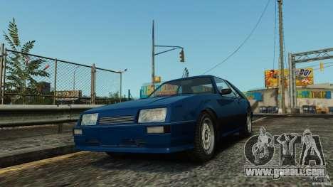 Uranus Hatchback for GTA 4 left view