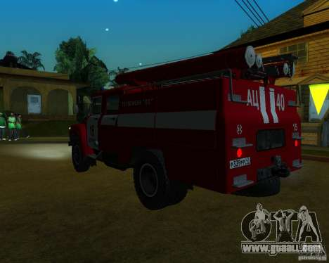 ZIL 130 AC 40 for GTA San Andreas left view