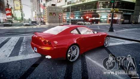 Ferrari 612 Scaglietti custom for GTA 4 bottom view
