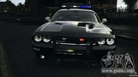 Dodge Challenger SRT8 392 2012 Police [ELS][EPM] for GTA 4