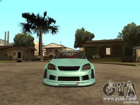 Chevrolet Cobalt SS NFS Shift Tuning for GTA San Andreas right view