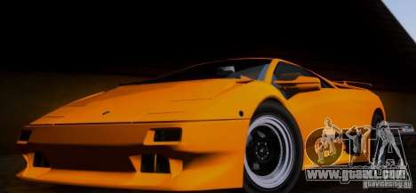 Lamborghini Diablo VTTT Black Revel for GTA San Andreas left view