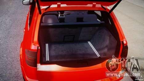 BMW X5M Chrome for GTA 4 back view