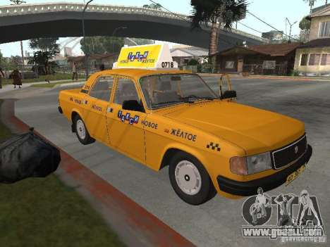 Volga GAZ 31029 Taxi for GTA San Andreas