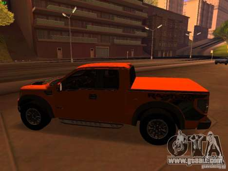 Ford F-150 SVT Raptor 2009 Final for GTA San Andreas left view