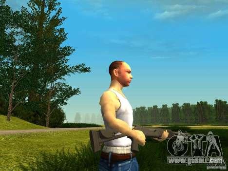 Benelli M4 Super 90 for GTA San Andreas third screenshot