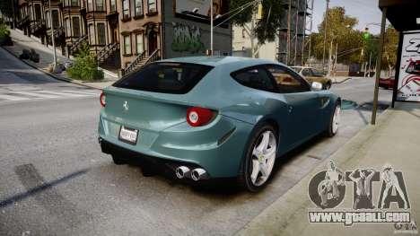 Ferrari FF 2012 for GTA 4 upper view
