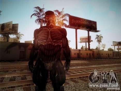 Crysis 2 Nano-Suit HD for GTA San Andreas second screenshot