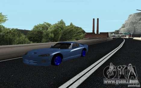 Dodge Viper GTS Monster Energy DRIFT for GTA San Andreas