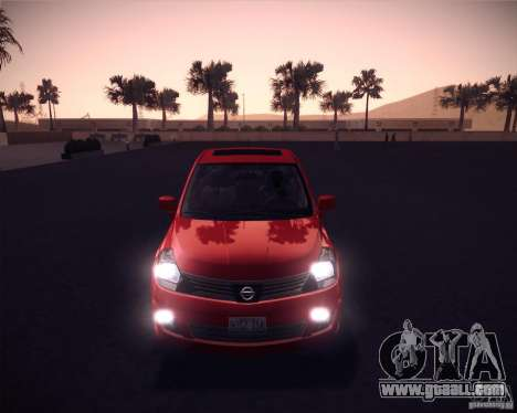 Nissan Versa Stock for GTA San Andreas left view