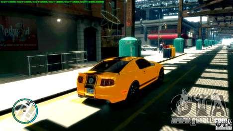 Shelby GT500 Super Snake 2011 for GTA 4 left view