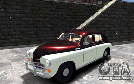 FSO Warszawa M20 201 for GTA 4