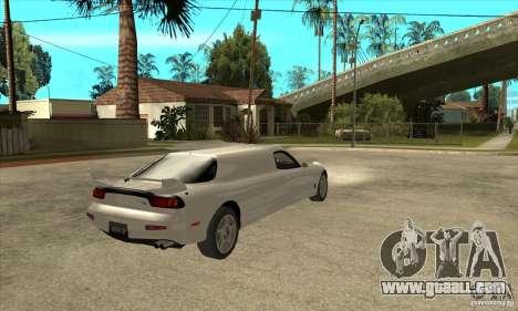 Mazda RX-7 Limousine for GTA San Andreas right view